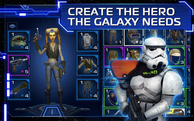 Download Star Wars: Uprising Android Games Apk + Obb SD - Google Play