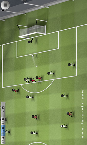 Stickman Soccer Android - بازی فوتبال اندروید