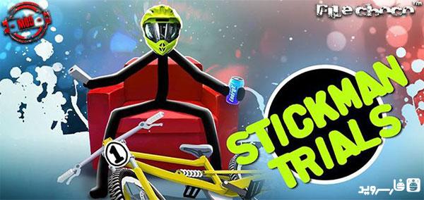 دانلود Stickman Trials - بازی موتور سواری اندروید + مود