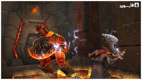 """دانلود Stormblades 1.5.1 – بازی اکشن """"شمشیر طوفانی"""" اندروید + مود"""