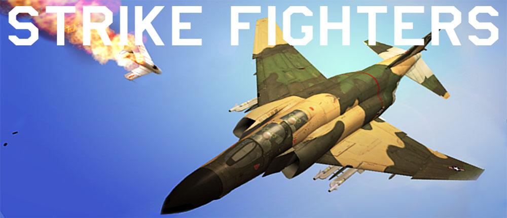 دانلود Strike Fighters - بازی شبیه ساز جنگ های هوایی اندروید + دیتا