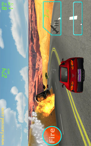 Supercar Shooter Android بازی اندروید