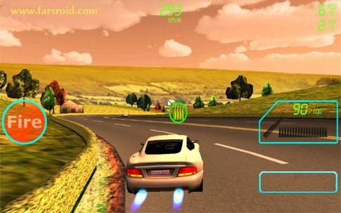 دانلود Supercar Shooter - بازی ماشین تیرانداز اندروید + دیتا !