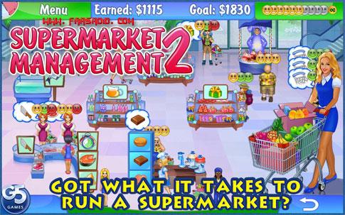 دانلود Supermarket Management 2 - بازی مدیریت سوپر مارکت اندروید + دیتا + تریلر