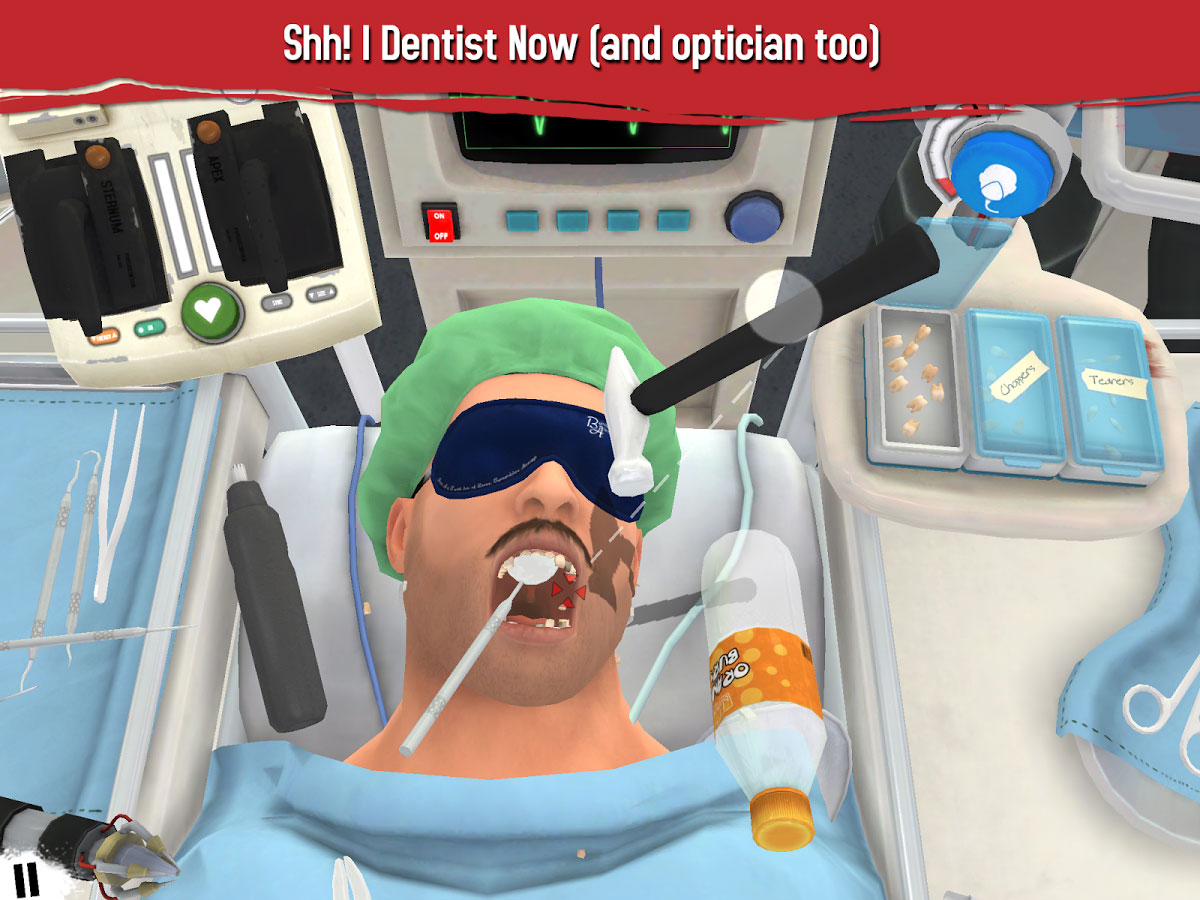 دانلود Surgeon Simulator 1.4 – بازی شبیه ساز جراحی اندروید + مود + دیتا