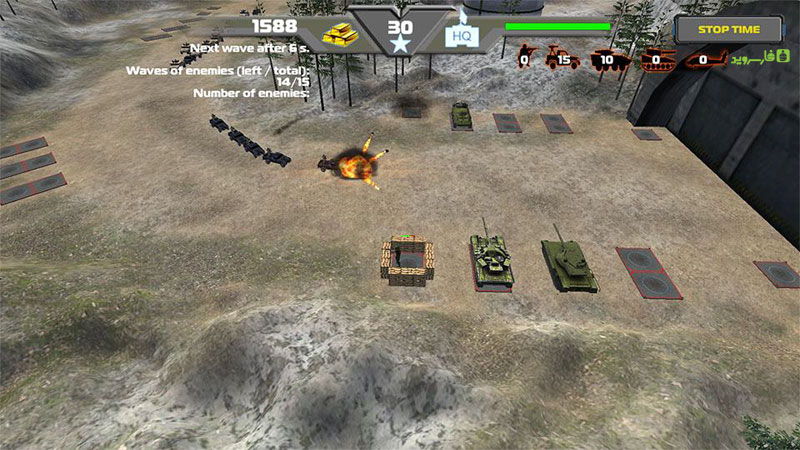 TD Global Strike-Tower Defence Android
