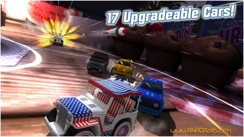 Table Top Racing Premium Android - بازی اندروید