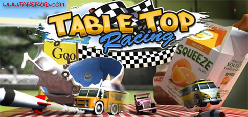 دانلود Table Top Racing - بازی ماشین های روزمیزی اندروید + دیتا