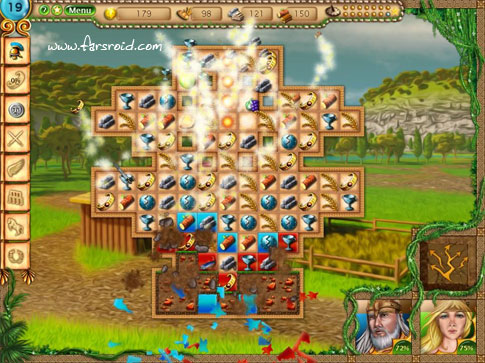 Tales of Rome Match 3 Android - بازی پازلی اندروید