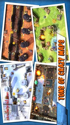 دانلود Tank Battles 1.1.4a – بازی جنگ تانک ها گیم لافت اندروید + دیتا