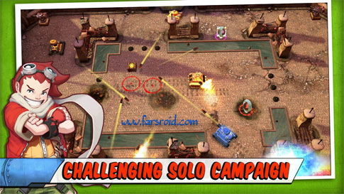 Download Tank Battles Android Game Apk + Obb - NEW