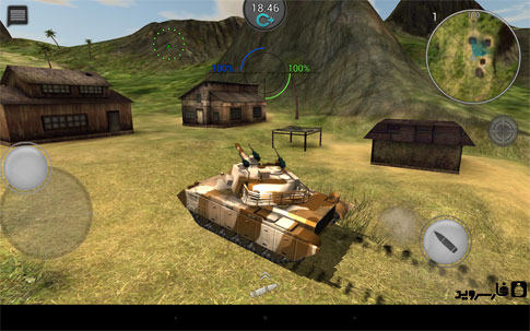 Tanktastic - 3D tanks online Android - بازی اندروید