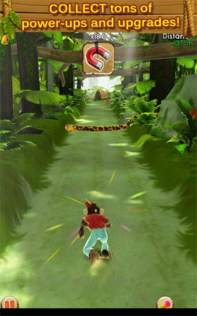 Tarzan Unleashed Android - بازی اندروید