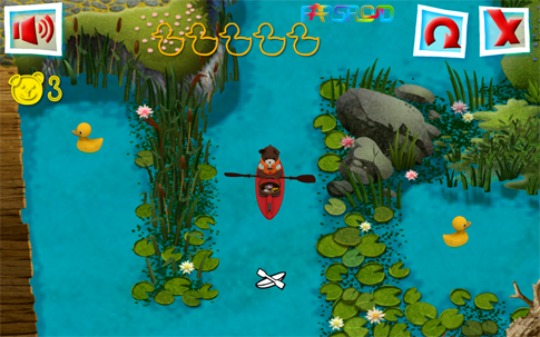 Teddy Floppy Ear: Kayaking Android بازی اندروید