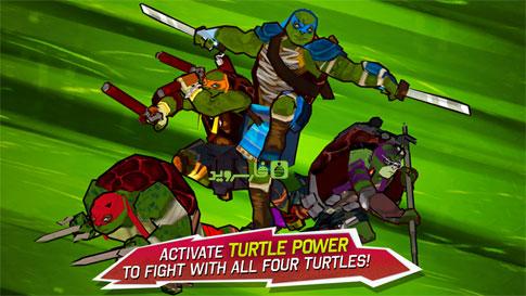 Teenage Mutant Ninja Turtles Android - بازی جدید اندروید