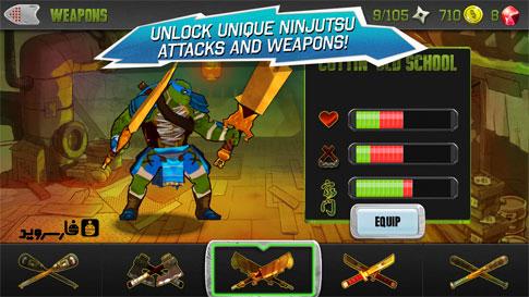 Teenage Mutant Ninja Turtles Android - بازی جدید رایگان اندروید