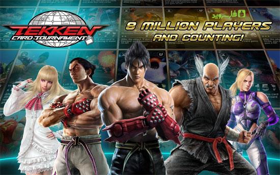 دانلود Tekken Card Tournament - بازی تیکن اندروید