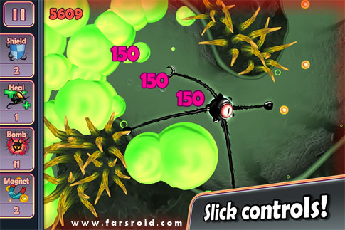 Tentacles: Enter The Dolphin Android - بازی جدید اندروید