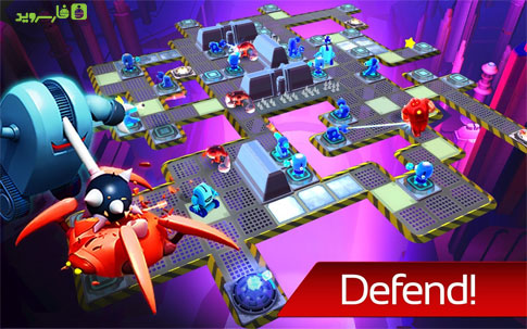 The Bot Squad: Puzzle Battles Android - بازی اندروید