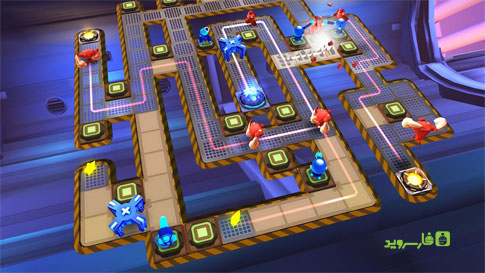 The Bot Squad: Puzzle Battles Android - بازی جدید اندروید