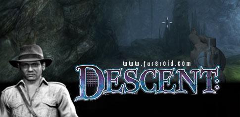 دانلود The Descent - بازی ترسناک و ماجراجویی هبوط اندروید + دیتا
