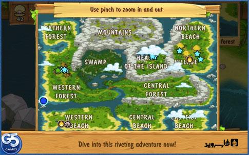 The Island: Castaway® (Full) Android - بازی رایگان اندروید