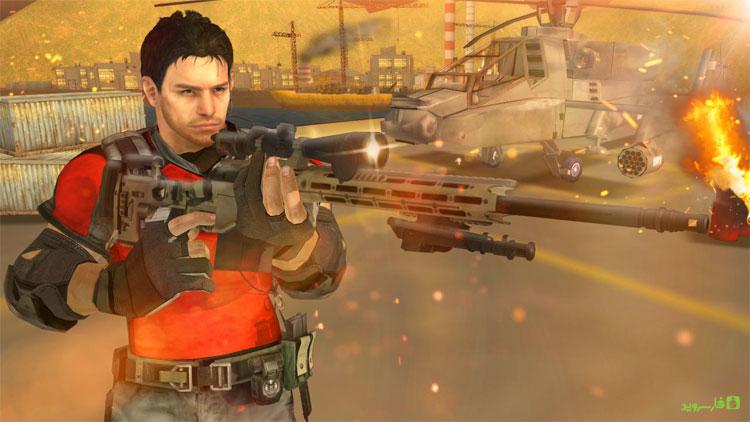 دانلود The Mission Sniper - بازی اسنایپری ماموریت های غیرممکن اندروید + مود