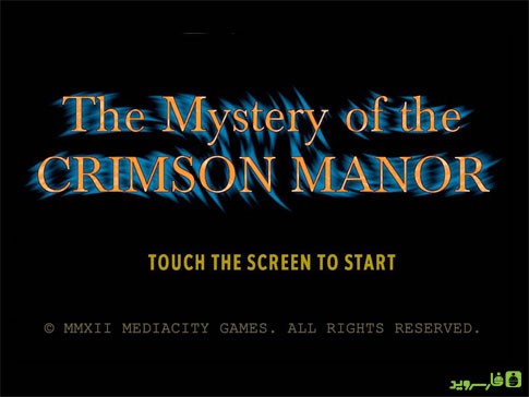 The Mystery of Crimson Manor Android - بازی رایگان اندروید
