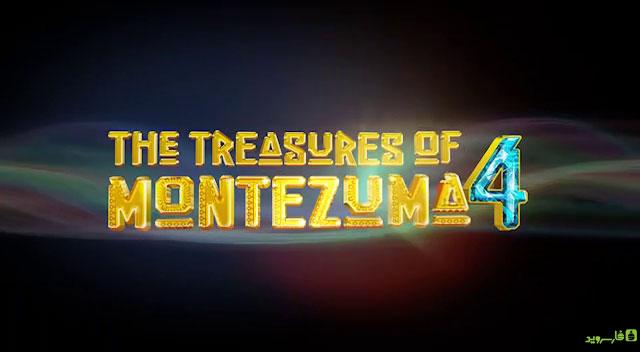 دانلود The Treasures Of Montezuma 4 - بازی پازل گنجینه های معبد 4 اندروید - 4 فایل نصبی و 4 دیتا