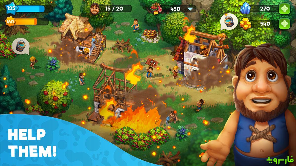 دانلود The Tribez: Build a Village 10.4.1 - بازی اعتیادآور و پرطرفدار قبیله ها اندروید + مود
