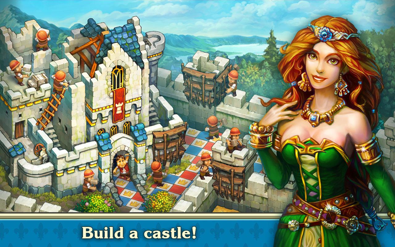 The Tribez & Castlez بازی جدید اندروید