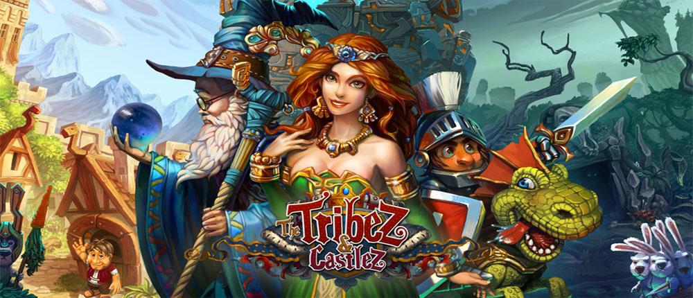 دانلود The Tribez & Castlez - بازی استراتژیک اچ دی قبایل و قلعه ها آندروید + دیتا + مود