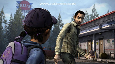 The Walking Dead: Season Two Android - بازی اندروید