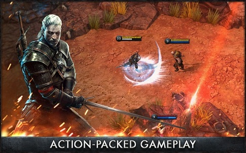 The Witcher Battle Arena Games