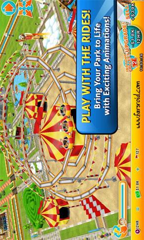 Theme Park Android بازی اندروید