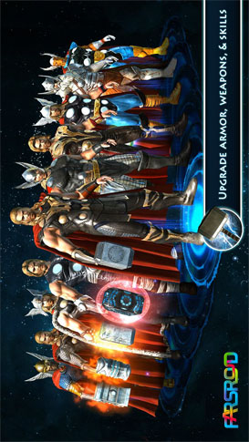 Thor: TDW - The Official Game بازی اندروید