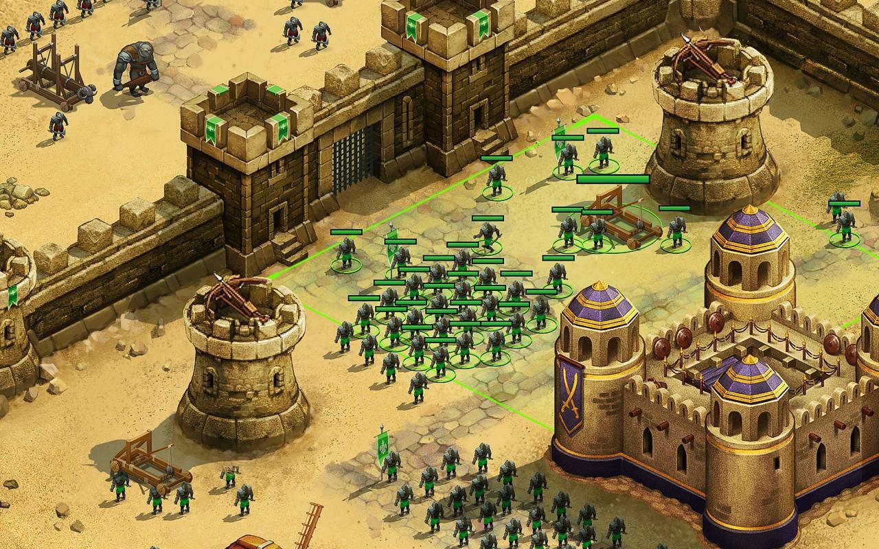 Throne Rush Android - بازی اندروید