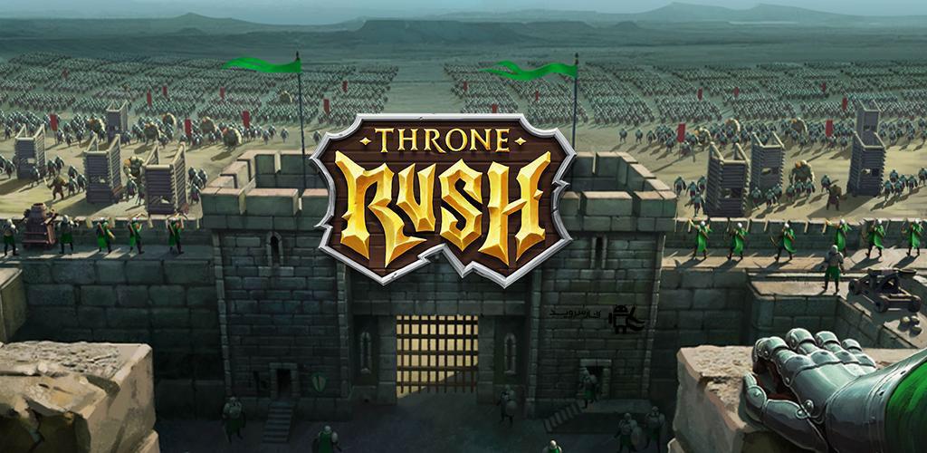 دانلود Throne Rush 5.5.1 - بازی استراتژی یورش تاج و تخت اندروید