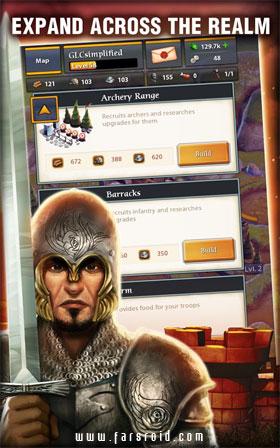 Throne Wars Android - بازی استراتژیک اندروید