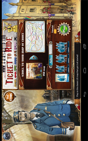 Ticket to Ride Android بازی اندروید