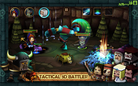 Tiny Legends: Heroes Android - بازی اندروید
