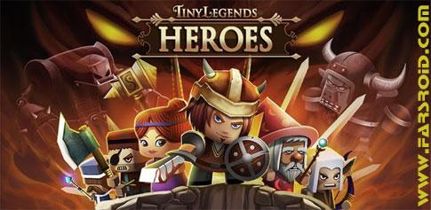 دانلود Tiny Legends: Heroes - بازی مبارزه با هیولا + فایل دیتا