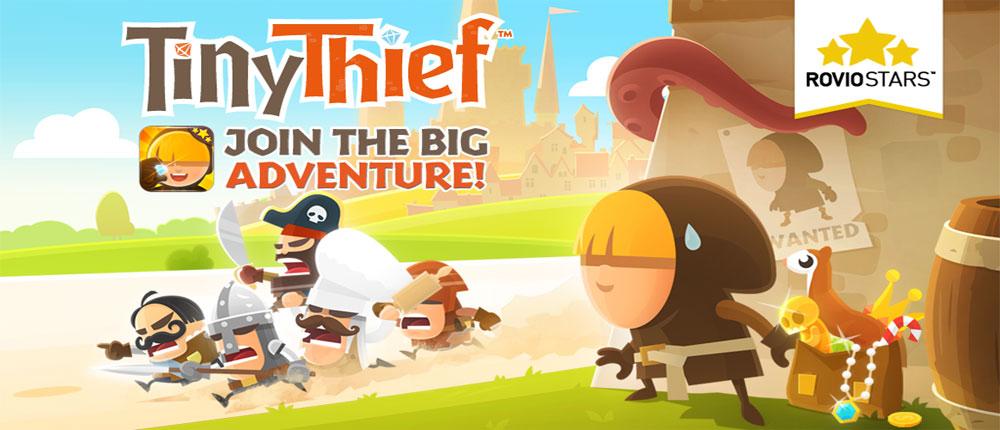 دانلود Tiny Thief - بازی فکری دزد کوچک اندروید + دیتا + تریلر