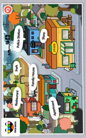 Toca Town Android - بازی جدید اندروید