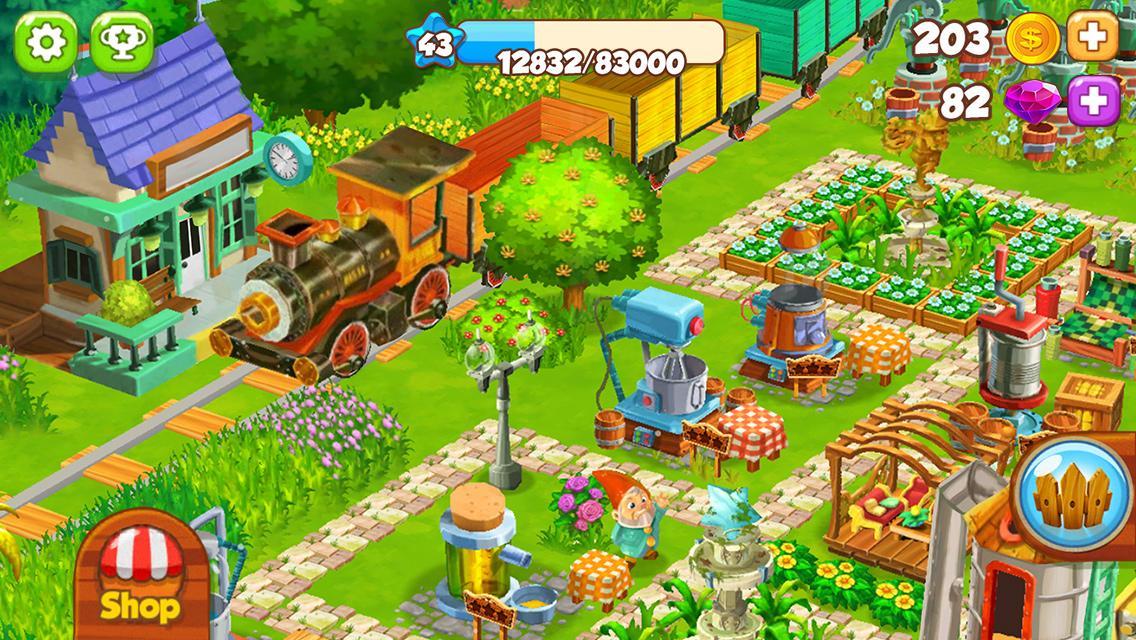 Top Farm - بازی اندروید