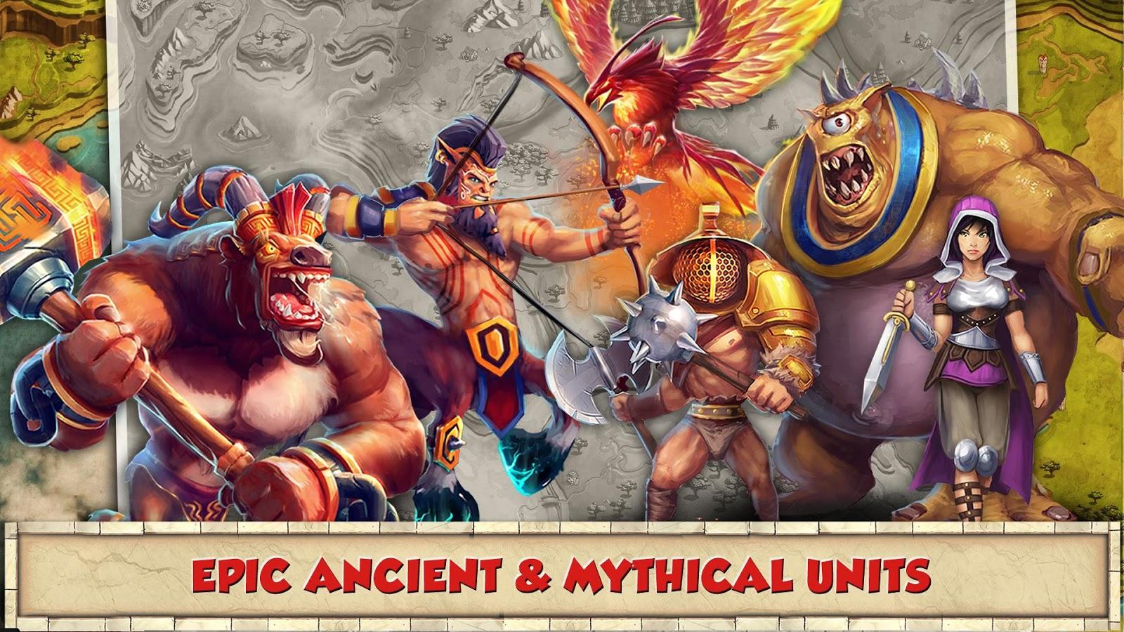 دانلود Total Conquest 2.1.5a – بازی آنلاین امپراتوری روم اندروید