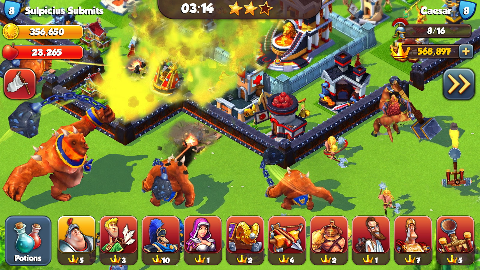 Total Conquest Android بازی اندروید