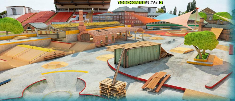 دانلود Touchgrind Skate 2 - بازی فوق العاده اسکیت لمسی 2 اندروید + دیتا