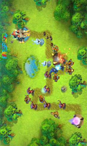 Towers N' Trolls Android بازی اندروید