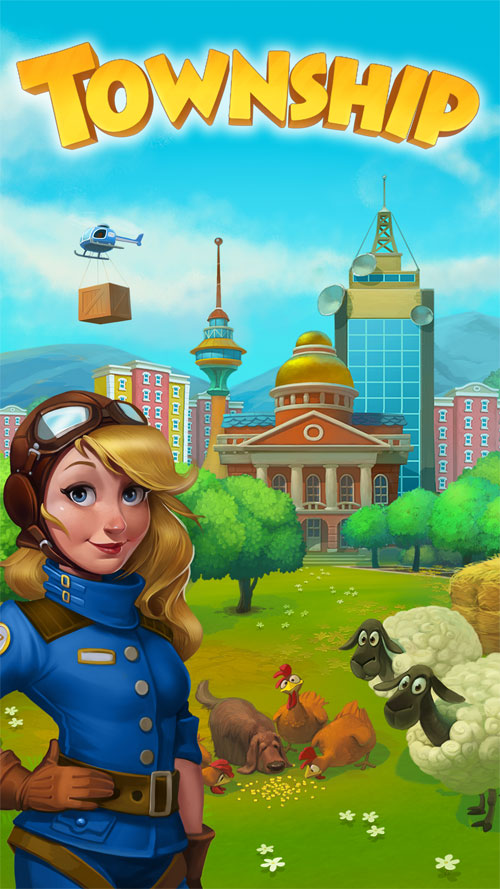 Township Android - بازی جدید اندروید